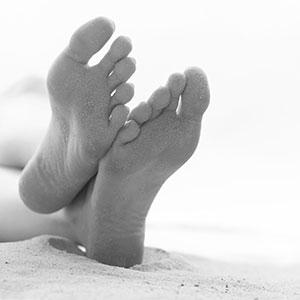 Schwerpunkt Fuß
